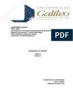 TAREA 4- DIFERENCIAS NACIONALES negocios internacionales