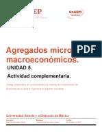 Agregados macro y microeconómicos
