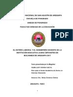 Ochoa_Estres y Desempeño docente 2018
