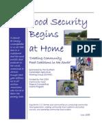 Food Security Begins at Home