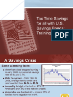 Low-Risk Tax-Time Savings for All with U.S. Savings Bonds
