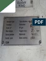 Pump Name Plates