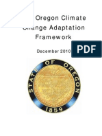 Oregon Climate Change Adaptation Framework