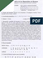 Ficha informativa de los humedales de Ramsar Santuario de la naturaleza e investigación científica Carlos Anwandter, Roberto Schlatter (1998)