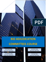 Bid Adjudication Committees Course