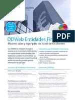 DDWeb Entidades Financieras