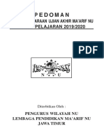 Pedoman UAMNU 2019-2020
