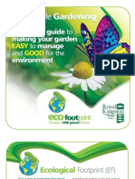 A practical guide to making your garden EASY to manage and GOOD for the environment - Eco Footprint