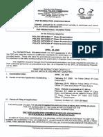 NAPOLCOM Promotional Exam April 2020 Guide