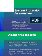 Power System Protection – An overview _ K Muruganandam.ppt