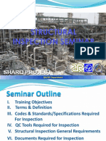 9.Structural Inspection Seminar