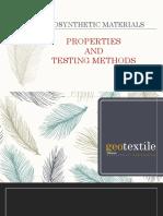 2.Properties & Testing Methods