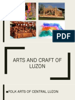 Arts and craft of Luzon