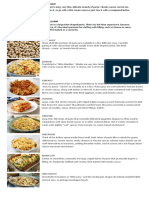 20 types of pasta - TLE9