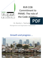 Code of Ethics for CLASS USE
