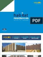 Conscient Habitat Residences Sector 78 Faridabad 9911-81-6000 Brochure