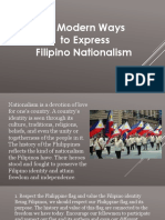 10 Ways to Express Nationalism