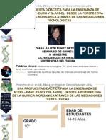 Seminario Por Proyectos Diana Nunez