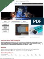 GB E4313 - AWS A5.1 E6013 welding rods- Carbon Steel Electrode