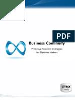Elfiq White Paper - Business Continuity