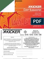 Manual de subwoofer kicker comp 2 c8