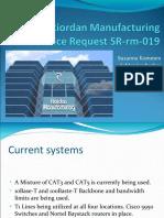 Service Request SR Rm 019