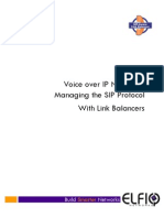 Elfiq White Paper - SIP VoIP Management