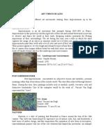 ART APP written report