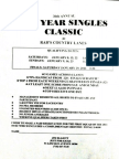 Rab's New Years Singles Classic Flyer