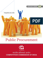 Provisions Relating to Procurement