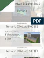 temario dialux evo 8.1 2019