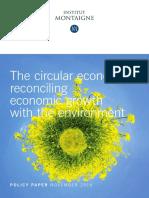 Policy Paper Circular Economy