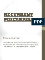 RECURRENT MISCARRIAGES.pptx