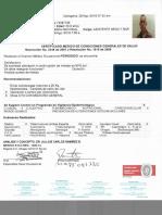 Certificado trabajo en altura