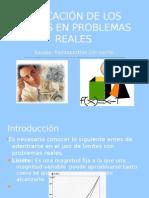 APLICACIÓN DE LOS LIMITES EN PROBLEMAS REALES