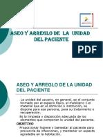 5. ASEO Y ARREGLO DE LA  UNIDAD