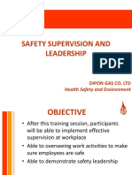 Safety Supervision and Leadership