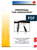 Penawaran TIME MANAGEMENT BI_SWA