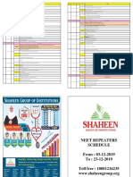 NR Edit schedule changes in Botany