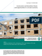 Construction and Demolition Waste - challenges and opportunities in a circular economy