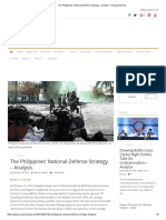 The Philippines' National Defense Strategy