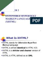 Ch02 x HTML Xhtml