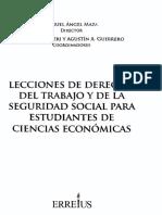 LECCIONES DE DERECHO DEL TRABAJO DE LA SEGURIDAD SOCIAL PARA ESTUDIANTES DE CIENCIAS ECONOMICAS.pdf