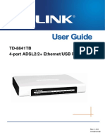 TD-8841TB User Guide
