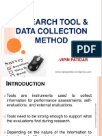 researchtoolsdatacollectionmethod