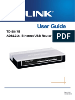 TD-8817B User Guide