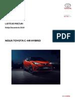 Preturi_Toyota_C-HR_HSD_MC19_2019 Dec