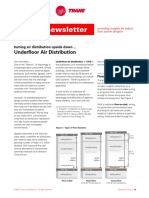 Underflow Air Distribution