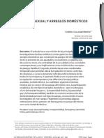 DIVERSIDAD SEXUAL Y ARREGLOS DOMÉSTICOS