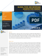 Food and Beverages Disinfection Market - 2018-2025